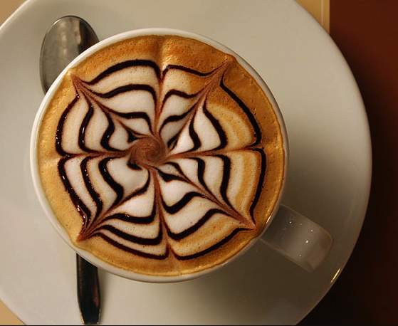 Decorative latte- what is it all about?